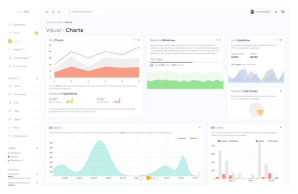 Angular Admin Template with .NET Core 3 Backend 3